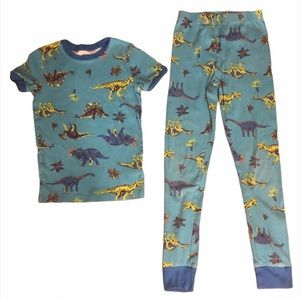 Kid's Spotted Zebra Dinosaur Pajamas